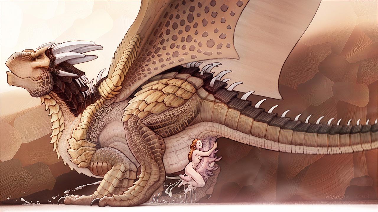 с рассказы драконом секс