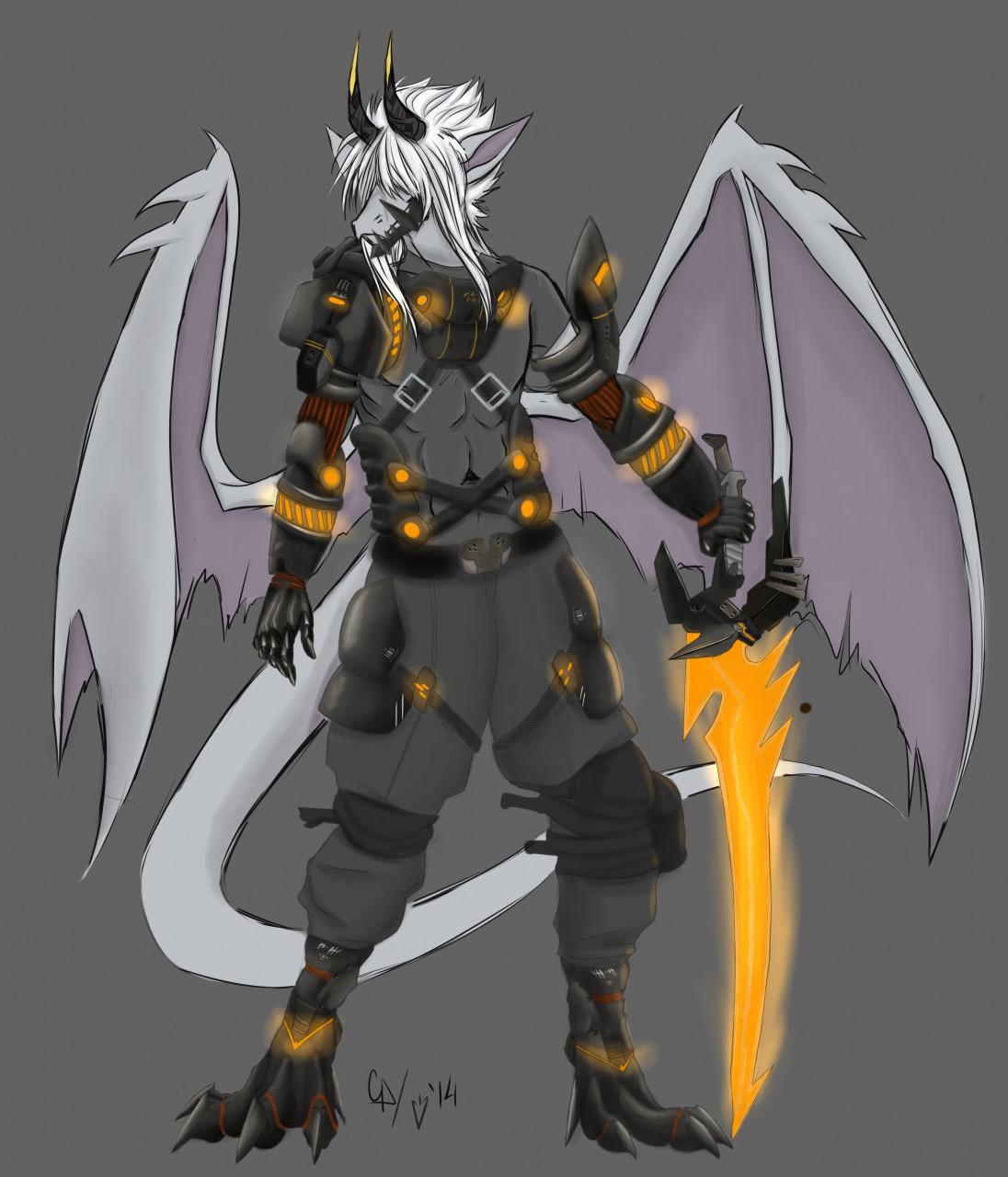 armored dragon lvl 3